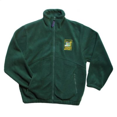 All Saint's Richmond Bottle Green Fleece w/Logo