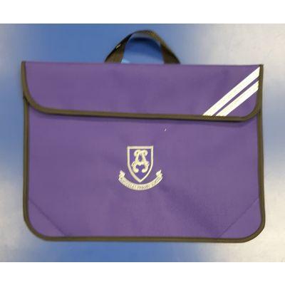 Alwoodley Purple Bookbag w/Logo