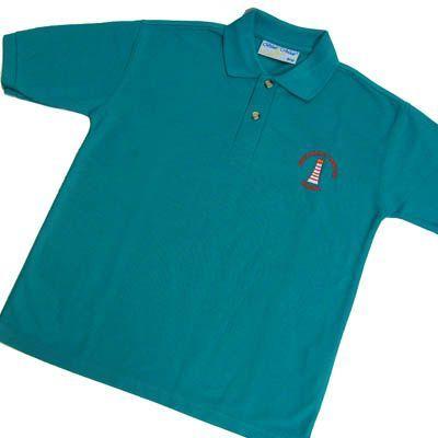 Austhorpe Jade Polo Shirt w/Logo