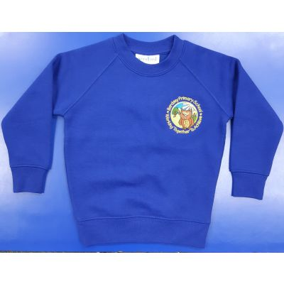 Bardsey Royal Sweatshirt w/Logo
