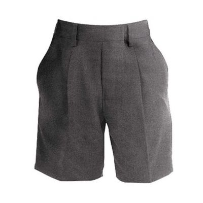 Boys Mid-Grey Shorts