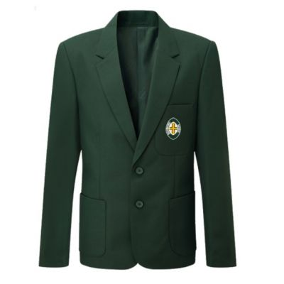 Richmond House Boys Bottle Green Blazer w/Logo