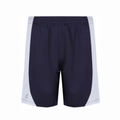 Temple Moor Nvy/Wht Akoa Games Shorts