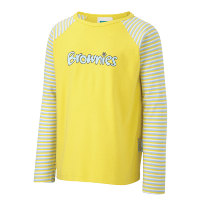 Brownies Long Sleeved Tee Shirt With Logo