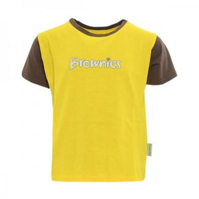Brownies Short Sleeved Tee Shirt With Logo
