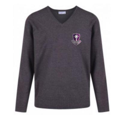 Corpus Christi V-Neck Pullover w/Logo