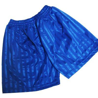 Royal Blue Shadow Stripe Shorts