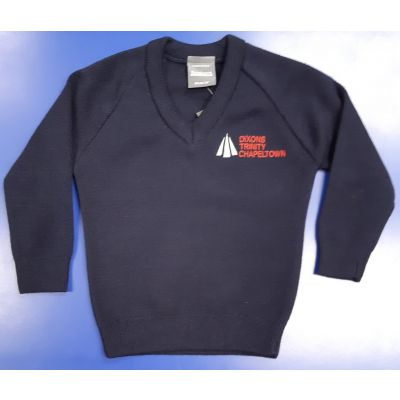 Dixon Trinity Chapeltown V-Neck Knitted Pullover w/Logo