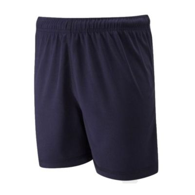 Plain Navy Falcon Games Shorts