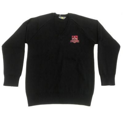Gateways Black V-Neck Pullover w/Logo