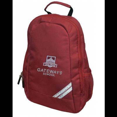 Gateways Maroon Pre-School Backpack w/Logo