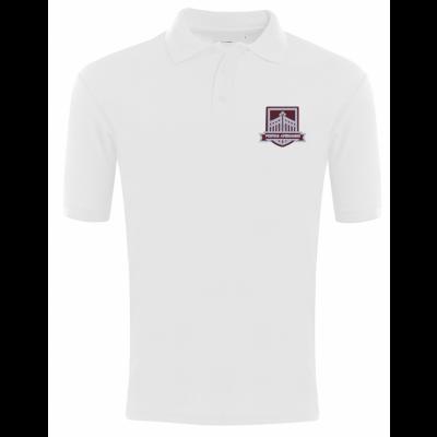 Gateways White Polo Shirt w/Logo