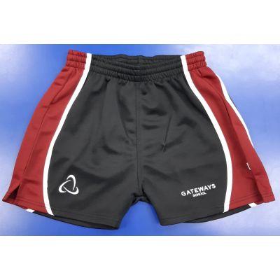 Gateways Boys Games Shorts w/Logo