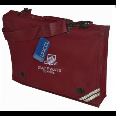 Gateways Maroon Document Case w/Logo