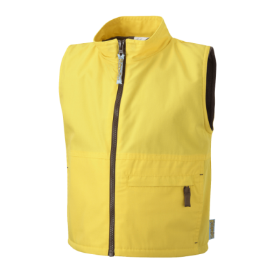 Brownies Gilet With Fleece Lining