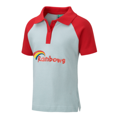 Rainbow Polo Shirt With Logo