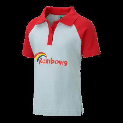 Rainbow Polo Shirt With Logo