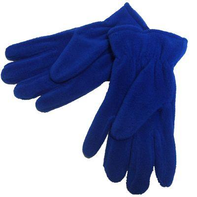 Royal Blue Fleece Gloves
