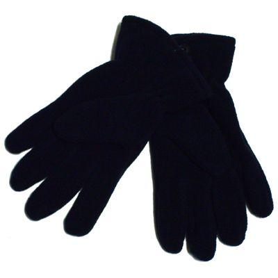 Navy Fleece Gloves