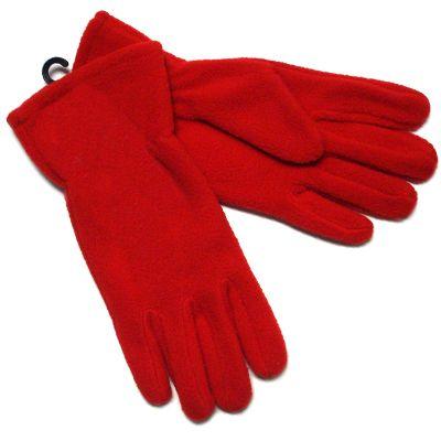 Red Fleece Gloves