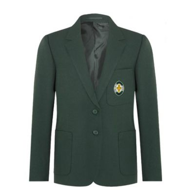 Richmond House Girls Bottle Green Blazer w/Logo