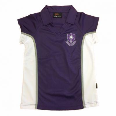 Corpus Christi Girls P.E Polo Shirt w/Logo