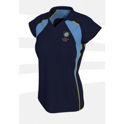 Guiseley School Girls PE Polo Shirt w/Logo