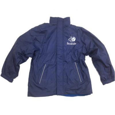 Brodetsky Royal Blue Reversible Jacket w/Logo