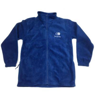 Brodetsky Royal Blue Fleece Jacket w/Logo