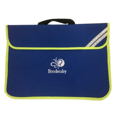 Brodetsky Royal Blue Bookbag w/Logo