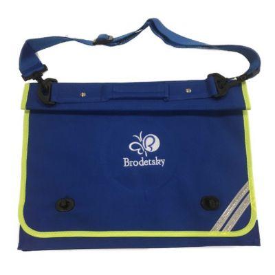 Brodetsky Royal Blue Document Case w/Logo
