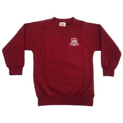 Gateways Junior Cherry V-Neck Pullover w/Logo