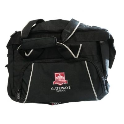 Gateways Black Sports Bag w/Logo
