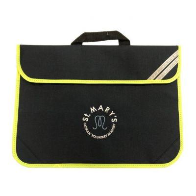 St Marys Horsforth Navy Book Bag w/Logo
