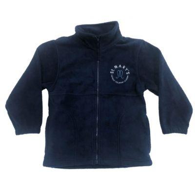 St Marys Horsforth Navy Reversible Jacket w/Logo