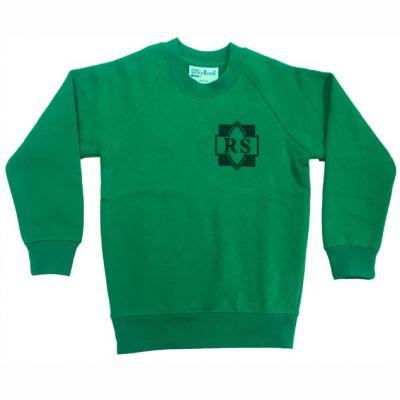 Roundhay Emerald Sweatshirt w/Logo