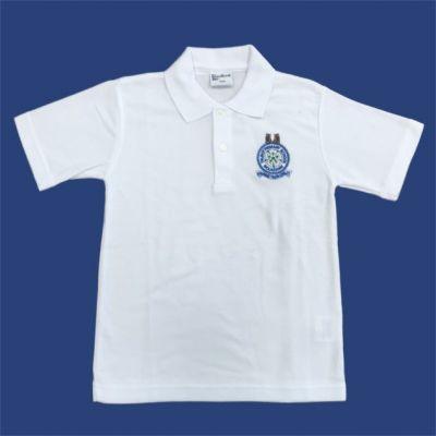 Talbot Primary School White Poloshirt w/Logo