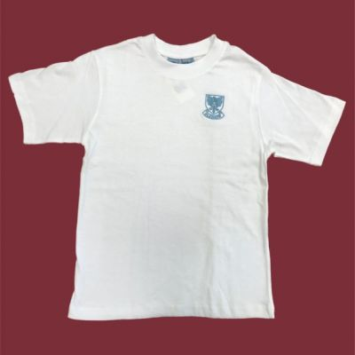Gledhow Primary School White P.E T-Shirt w/Logo