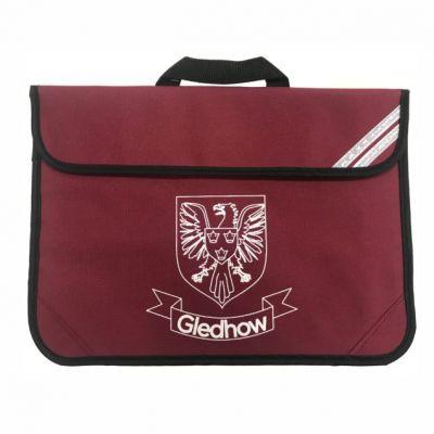 Gledhow Primary School Maroon Bookbag w/Logo