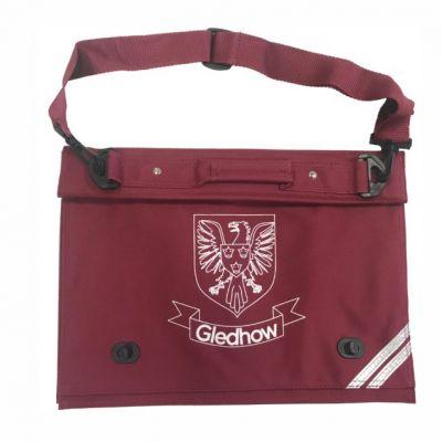 Gledhow Primary School Maroon Document Case w/Logo