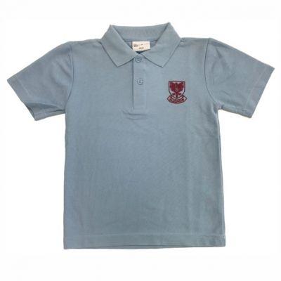 Gledhow Primary School Sky Blue Polo Shirt w/Logo