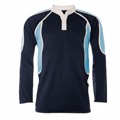 Bishop Young Navy/Sky Rugby Jersey