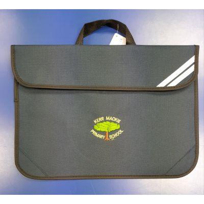 Kerr Mackie Navy Bookbag w/Logo
