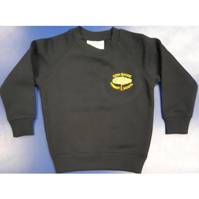 Kerr Mackie Navy Crew Neck Sweatshirt w/Logo