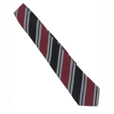 Lawnswood Black 52″ Stripe Tie