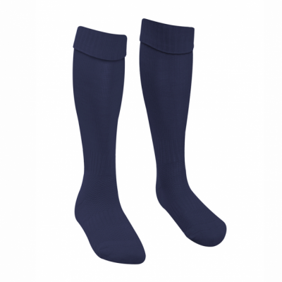 Boys Navy Football Socks