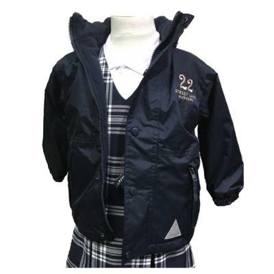 22 Street Lane Navy Reversible Jacket w/Logo