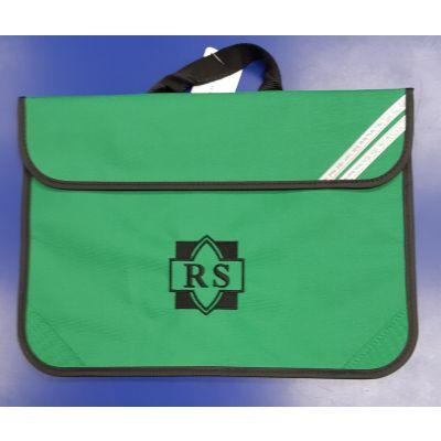 Roundhay Emerald Bookbag w/Logo
