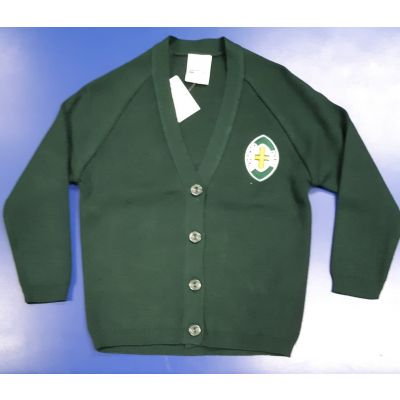 Richmond House Girls Cardigan w/Logo