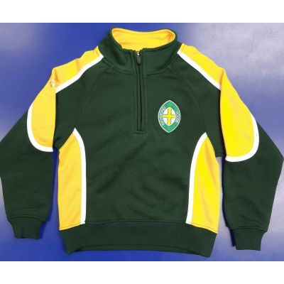 Richmond House Akoa 1/4 Zip Tracksuit Top w/Logo
